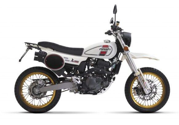 X RIDE 125 bianca